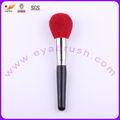 red hot électrique de chèvre cheveux brosse pour cosmétiques avec virole en cuivre
