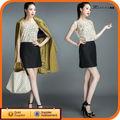 negro con estilo de moda de alta faldas de las mujeres