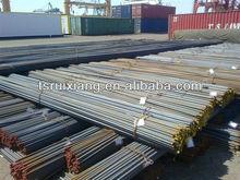 Deformed reinforcing steel bars size or weight