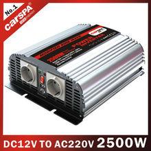 2500wกระแสตรงเป็นไฟฟ้ากระแสสลับอินเวอร์เตอร์12vdc/24vdc110vac/220vacจะราคาถูก
