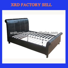 cheap PU bed/faux leather bed for bedroom/leather bed