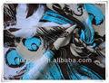 Boa qualidade e projeto popular de viscose/rayon tricô tecido para o vestido e roupões