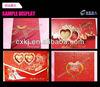 High precise China factory laser cut wedding invitations design