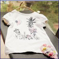 2013 hot new design kids light t-shirts manufacture