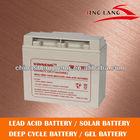 high quality storage solar battery 12V 17Ah