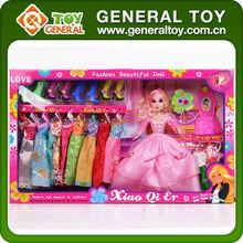 Venta al por mayor muñecas, Zapatos de muñeca de plástico, Conjunto de muñecas