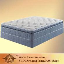 Firm Support Quality Memory foam Pillow Top Pocket spring Mattress Queen size Beddings from Mattresses supplier