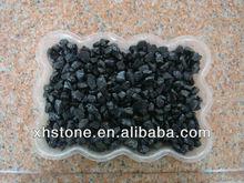 Hot Sale ! garden landscaping black stone gravels