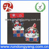 Cheap and fine plastic christmas gift bag printed with snowman