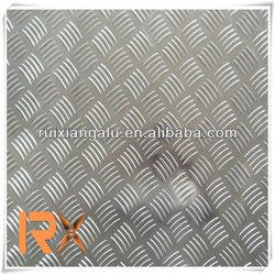 Cheap and good quality!!Hot sale anti-skid Aluminum Checkered Plate Clean, Flat, Five bar, Diamond Plate