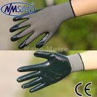 NMSAFETY dark green nitrile hand polishing gloves