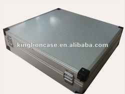 convenient custom silver aluminum case KL-T312 made in China