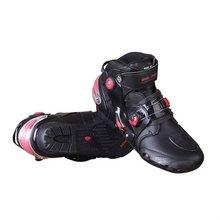 customized anti-shock buffer racing moto shoes
