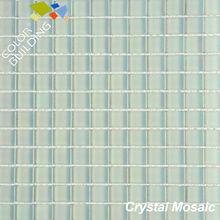 Mosaic glass lantern