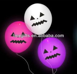 2013 hot selling halloween LED balloons