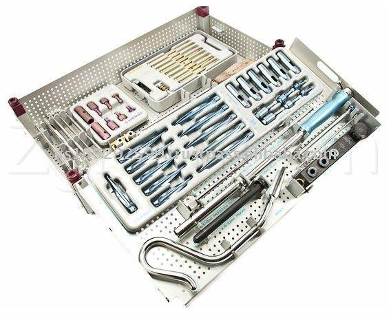 105.680 Synthes titânio Femoral unha padrão de conjunto de instrumentos
