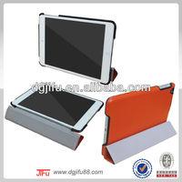 for iPad mini flip leather case,kickstand case for iPad mini,PU leather magnatic case made in china
