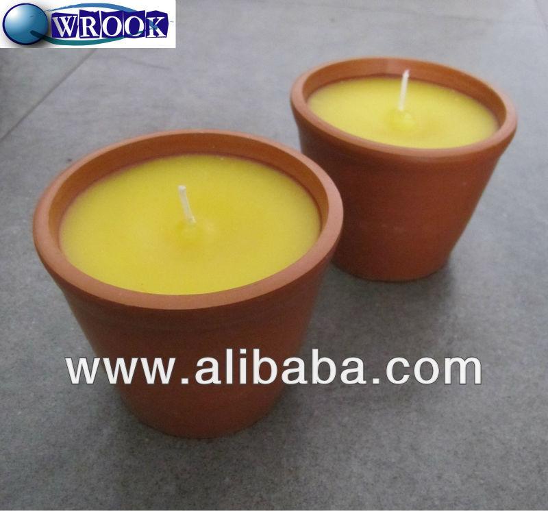 repellente per zanzare candela alla citronella