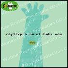Non-woven Protective PE Long Gloves