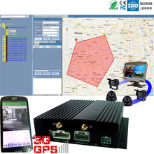 3G live video monitoring by mobile phone 4/2 channel taxi cctv dvr with GPS tracking by google map
