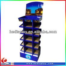 Corrugated display carton display,corrugated display floor stands,Corrugated display for retail and supermarket
