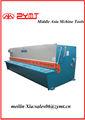 Máquina de corte guilhotina/chapas de aço inoxidável