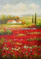 impressionniste peinture de noé rouges coquelicots