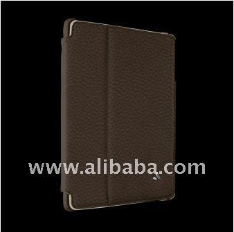 Vaja Dark Brown/Birch Leather Agenda Case for tablet pc