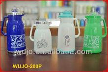 Coffee pot /Thermos /Vacuum Flask , Plastic body, glass liner/glass refill 1.0L/1.3L /1.6L/1.9L