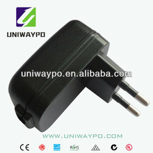 5W 5v 600mA wall mount usb charger EU plug & blender adaptor
