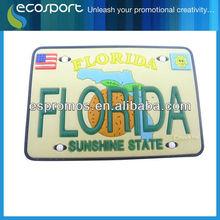 Flodida style Soft PVC Keychain ,free sample free mould