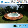 Outdoor Round Spa Tub Sex Family Massage Tub