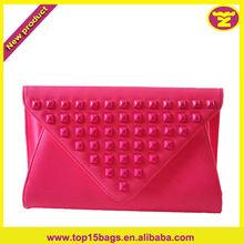 2014 New Design Girls Neon Pink Cheap Purse of Summer