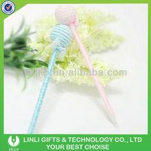 Office & school novelty promotional stationary candy ball pen