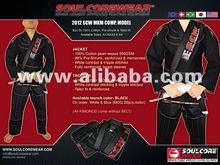 BJJ Kimono SCW MKM COMP Model