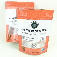 printed food plastic bags for rice packaging