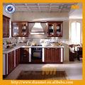 Pecan de madera armarios/gabinetes cocina sofisticada tecnología