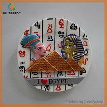 Egypt unique active gifts resin 3d fridge magnets