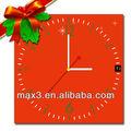 أحمر الجدول l0824-2 max3/ ساعة حائط جيدة 2014 أفكار هدايا عيد الميلاد