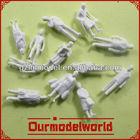 the latest painting model figures/ white model figures/ model arab figures
