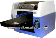 solvent inject USB card digital flatbed printer