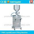 semi automático pomada vertical y el líquido de llenado de la máquina