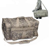 Large Digital ACU Camouflage Military Travel Kit Bag Duffel bag