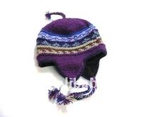 Ear flap winter Ski hat