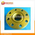 """Ansi b16.5 8"""" de alta calidad de acero al carbono bw tg a105n brida de pintura amarilla"""