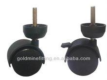 JHQ50-HA 50mm Furniture Wheel Hospital Bed Casters
