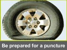 Puncture Repair Liquid.