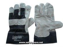 Semi Split Full Palm Leather Gloves, Leather Gloves, Leather Work Gloves