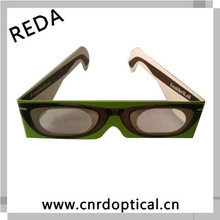 Reald 3d circular polarized 3d glasses