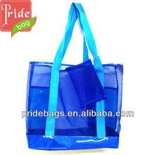 Fashion Latest Utility Ladies Beach Bag Mesh Bag